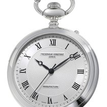 Frederique Constant Manufacture Silver Dial Pocket Watch