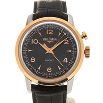 Vulcain Heritage Presidents' Watch 39 Pink Gold Charcoal L.E.