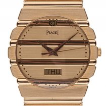 Piaget Polo Day-Date 18kt Gelbgold Quarz Armband Gelbgold 32mm...
