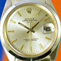 Rolex Date 1500, full gold, very long rivet bracelet, smooth...