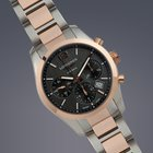 Longines Conquest Classic steel and rose gold automatic...