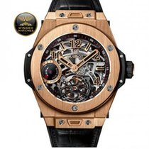 Hublot - Hublot TOURBILLON POWER RESERVE 5 DAYS KING GOLD