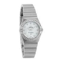Omega Constellation Ladies MOP Diamond Swiss Quartz Watch...