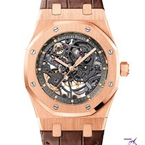 Audemars Piguet Royal Oak Skeleton Dial  Extra Thin 39mm  Rose...
