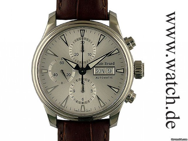 Louis Erard Heritage Automatic Chronograph Day Date 40mm