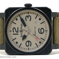 Bell & Ross Aviation Desert Type BR03-92 42mm Box Papers...