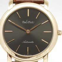 "Paul Picot ""Firshire Ronde Autom Extra Flat"" 18K rosé..."