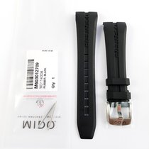 Mido Ocean Star 22mm rubber strap with pin buckle NEW