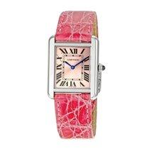 Cartier Tank Solo Quartz Ladies Watch Ref W5200000