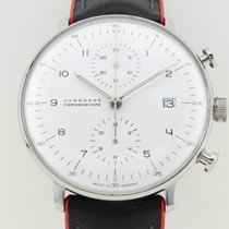 Junghans Max Bill Chronoscope Automatic Steel  27-4003