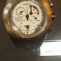 Seiko Arctura Kinetic Chronograph Titanium