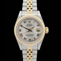 Rolex Datejust Lady -MOP- Ref.: 69173 - Edelstahl/Gelbgold -...