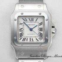 Cartier SANTOS XL GALBEE GROSSES MODELL STAHL AUTOMATIK W20098D6