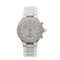 Cartier Must de 21 Chronoscaph Stainless Steel Ladies 2996