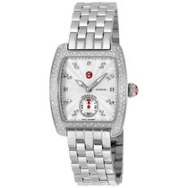Michele Mini Urban Silver Diamond Dial Ladies Watch