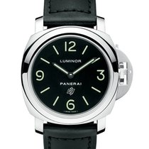 Panerai PAM01000 PAM 1000 - Luminor Base Logo Acciaio in Steel...