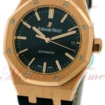 Audemars Piguet Royal Oak Ladies Automatic, Black Dial - Rose...