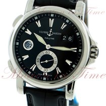 Ulysse Nardin GMT Dual Time & Big Date, Black Dial -...