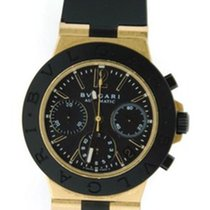 Bulgari Diagono Scuba Chronograph 18K Yellow Gold