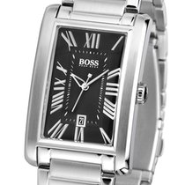 Hugo Boss Baldessarini Black Herrenuhr Classic Quarz Stahl neu...
