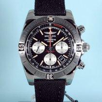 Breitling Chronomat 44 Airborne Stahl, Textilband - NEU