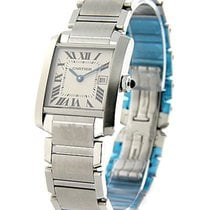 Cartier Tank Francaise Mid Size in Steel