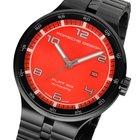 Porsche Design Automatic Herrenuhr rot P'6350 PD6350.43.74...