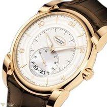 Parmigiani Fleurier Kalpa Tonda Rose Gold Silver Dial Men'...