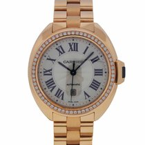 Cartier 31mm Rose Gold Diamond Watch WFCL0003
