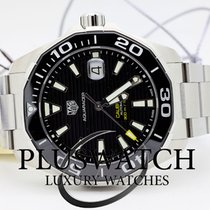 TAG Heuer Aquaracer Calibre 5 Automatic 43mm Black Dial G da...