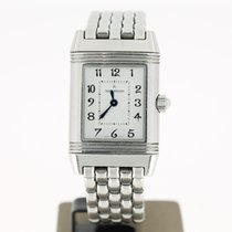 Jaeger-LeCoultre Reverso Duette Diamonds (B&P2011) 21mm Steel