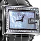 Gucci 100 Diamonds Stainless Steel & 0.70 ct. Diamonds...