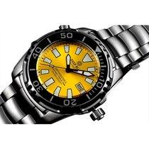 Deep Blue Depthmaster 3000 M II Wr Watch 49mm Case Auto...