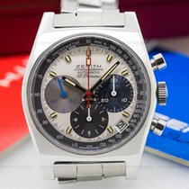 Zenith Vintage El Primero Tri-Color Dial SS / SS BOX AND PAPERS