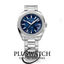 Gucci Quartz GG2570 Large  Blue Dial Stainless Steel 41mm R