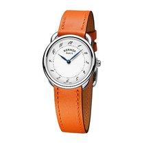 Hermès Arceau Quartz PM 28mm Steel Ladies Watch Ref AR5.210.13...