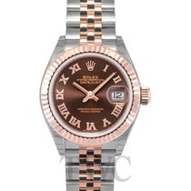 Rolex Lady Datejust 28 Chocolate/18k Everose gold 28mm - 279171