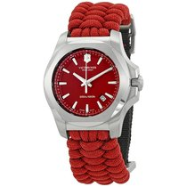 Victorinox Swiss Army I.N.O.X. Paracord Red Dial Men's Watch