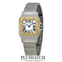 Cartier SANTOS GALBEE YELLOW GOLD & STAINLESS STEEL...
