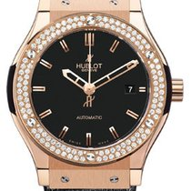 Hublot Classic Fusion Gold Diamonds Watch