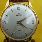 """Zenith """"little star"""" pink gold 18 kt mm 36 rare"""
