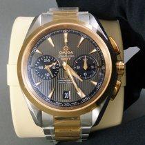 Omega Aqua Terra 150m Co-Axial Chronograph GMT 18k Rose gold...
