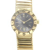 Bulgari Ladies   Tubogas Snake 18K Yellow Gold Watch BB.23.2T
