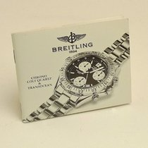 Breitling Chrono Colt Quartz & Transocean Manual Info Booklet