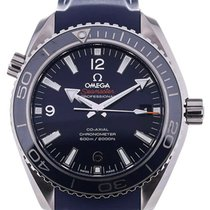 Omega Seamaster Planet Ocean 42 Automatic Chronometer Blue Dial