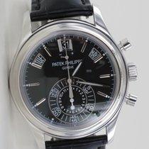 Patek Philippe Annual Calendar Chronograph Platin Black Dial...