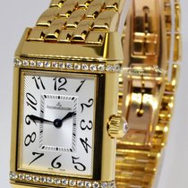 Jaeger-LeCoultre Ladies Reverso Duetto 18k & Diamond Watch...