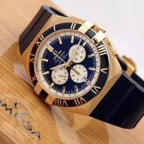 omega constellation double eagle chrono red gold price