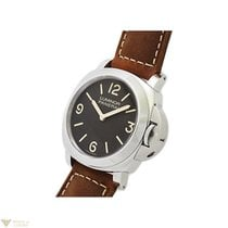 Panerai Luminor Boutique Edition Steel Leather Men`s Watch