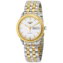 Longines Flagship Automatic White Dial Mens Watch L47993227